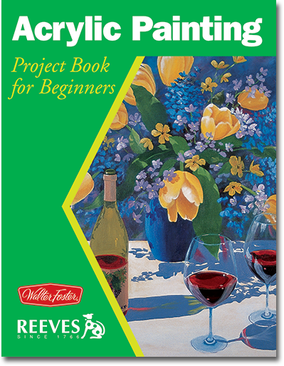Acrylic Project Book for Beginners by Joan Hansen