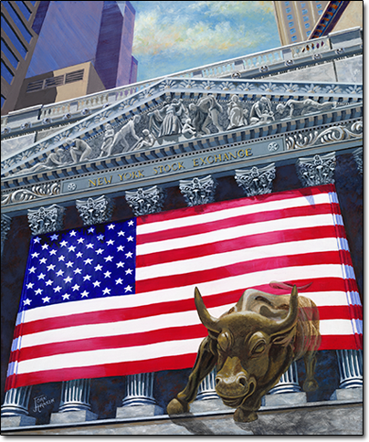 Bullish on America by Joan Hansen
