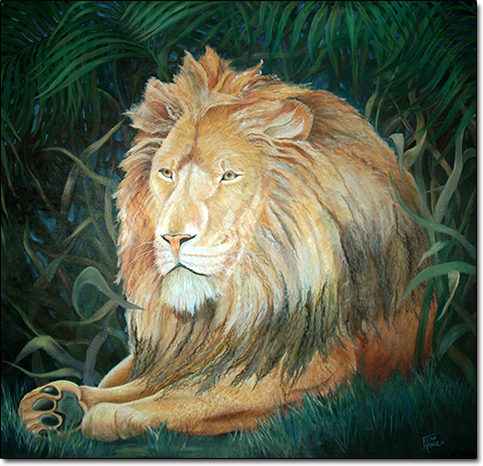 His Majesty by Joan Hansen