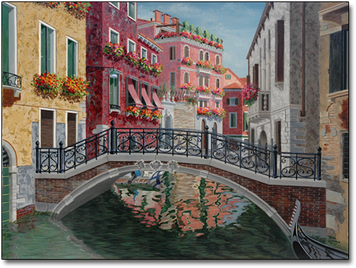 Venetian Reflections by Joan Hansen