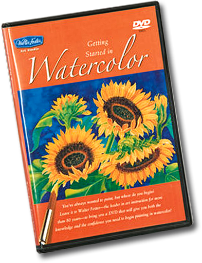 Watercolor for Beginners DVD by Joan Hansen